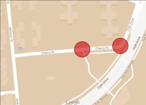 Cherry Street crossings