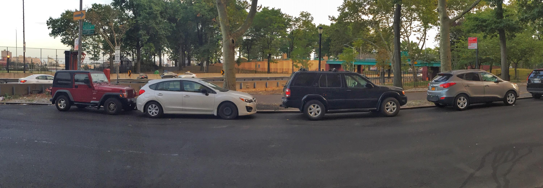 Cherry-FDR parking
