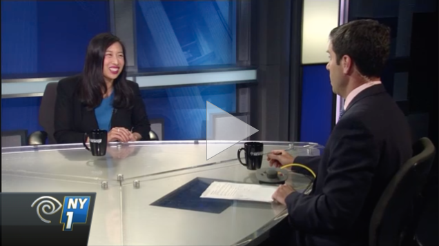 """Niou Era"" for AD65: Yuh-Line interviewed on NY1"